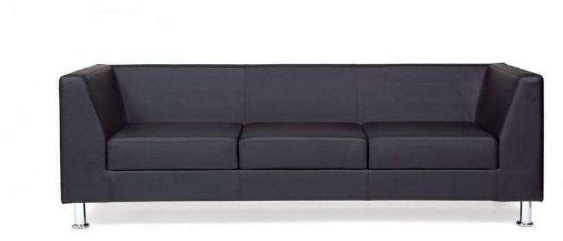 Офисный диван CHAIRMAN Дерби трехместный 1