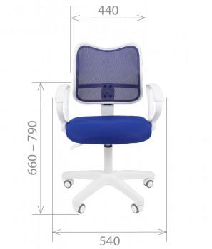 Кресло офисное CHAIRMAN 450LT White 2