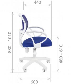 Кресло офисное CHAIRMAN 450LT White 1