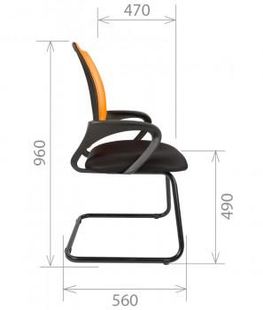 Кресло посетителя CHAIRMAN 696 V 1