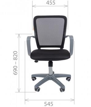 Кресло офисное CHAIRMAN 698 Grey 4
