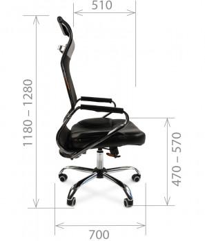 Кресло руководителя CHAIRMAN 700 сетка 1