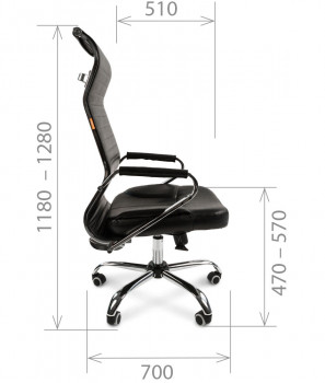 Кресло руководителя CHAIRMAN 700 сетка 5