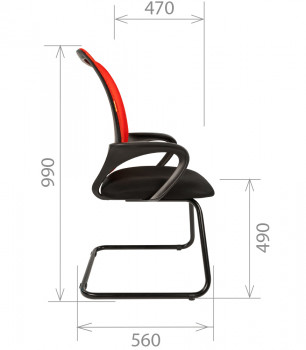 Кресло посетителя CHAIRMAN 969 V 4