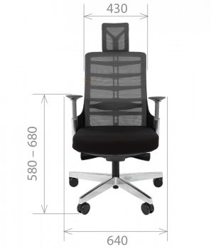 Кресло руководителя CHAIRMAN SPINELLY 8