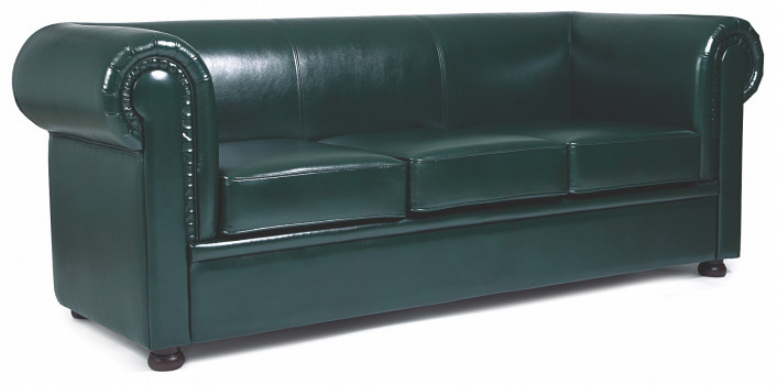 Офисный диван CHAIRMAN Честер Лайт трёхместный 2