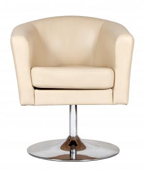 Офисное мягкое кресло CHAIRMAN КРОН на дисковом основании 2